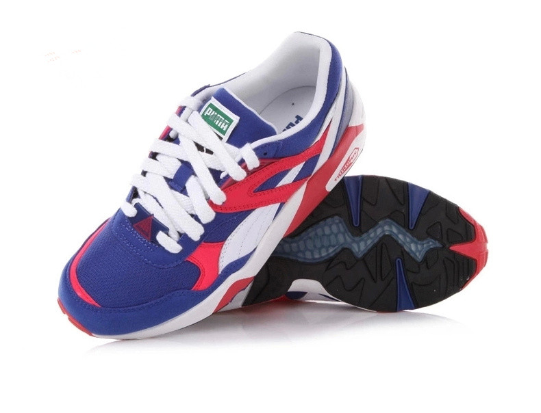puma trinomic rouge homme